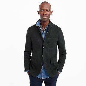 J.Crew Unstructured shawl-collar workwear jacket in English wool