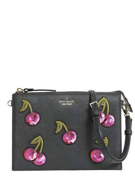 Kate Spade Cherries Dilon Clutch - NERO - STYLE