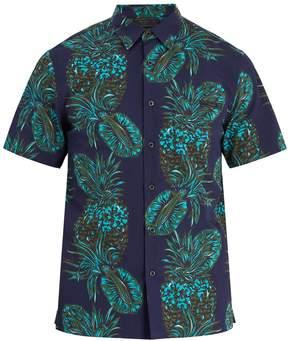 Prada Pineapple-print cotton shirt
