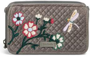 Vera Bradley Iconic RFID Velvet All in One Cross-Body Bag