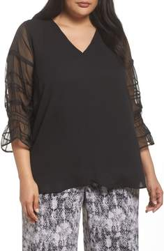 Sejour Pleat Sleeve Top