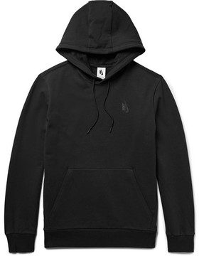 Nike Essentials Loopback Stretch-Cotton Jersey Hoodie