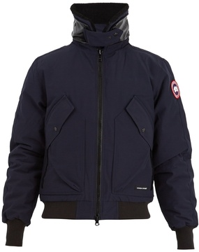 Canada Goose Bromley shearling-collar down bomber jacket