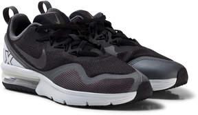 Nike Black and Dark Grey Fury Running Shoes