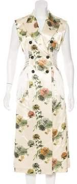 Dries Van Noten Peak-Lapel Blazer Dress