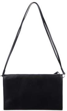 Kara Smooth Leather Shoulder Bag