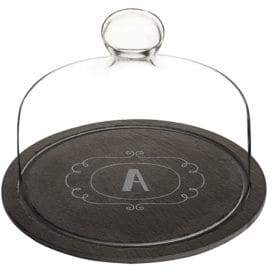 Cathy's Concepts Slate Domed Tray