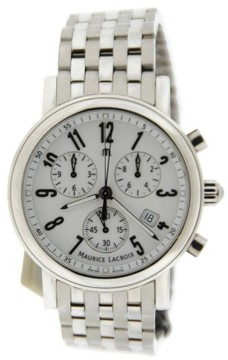 Maurice Lacroix Les Classique LC1038 Chronograph Stainless Steel 40mm Mens Watch