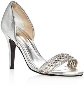 Caparros Illusion Metallic Embellished d'Orsay Pumps
