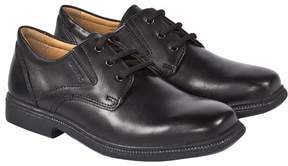 Geox Federico Black Leather Brogue