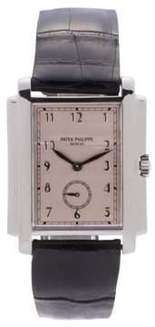 Patek Philippe Gondolo 5024 18K White Gold 30mm Mens Watch