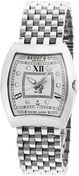 Bedat & Co Women's Estate Stainless Steel & Diamond No. 3 Watch, 28mm