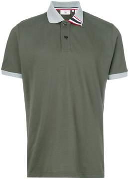 Rossignol striped detail polo shirt
