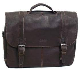 Kenneth Cole Reaction Leather Flap Briefcase