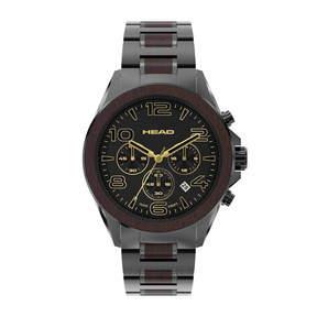Head Heritage Mens Two Tone Bracelet Watch-He-001-05