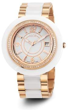 Alor CAVO White Dial 43mm Womens Watch