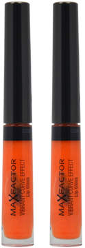 Max Factor In The Spotlight Vibrant Curve Effect Lip Gloss - Set of Two