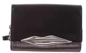 Diane von Furstenberg Metallic Mini Flirty Crossbody Bag