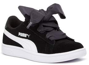 Puma Smash V2 Ribbon Sneaker (Little Kid & Big Kid)