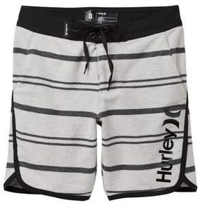 Hurley Striped Hangout Walk Shorts (Big Boys)