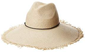 Lauren Ralph Lauren Panama Hat with Tassel Trim Caps