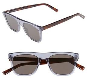 Christian Dior Men's Walk 51Mm Sunglasses - Black/ Grey