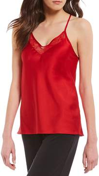 Chantelle Modern Movement Satin & Lace Racerback Camisole