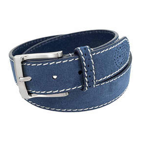 Florsheim 34mm Suede Leather Belt