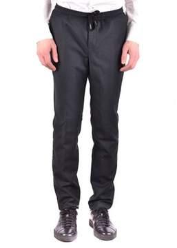 Brian Dales Men's Mcbi441016o Grey Wool Pants.