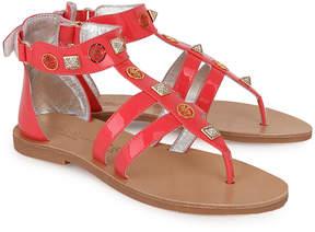 Miss Blumarine Pink Gladiator Sandals