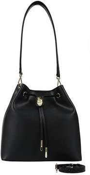 Class Roberto Cavalli Black Bucket Bag Corinne 006.