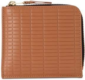Comme des Garcons Wallet Brick Line Leather Wallet