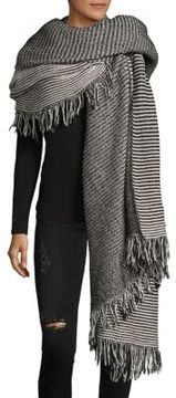 Donni Charm Bundle Stripe Cotton Oversized Scarf