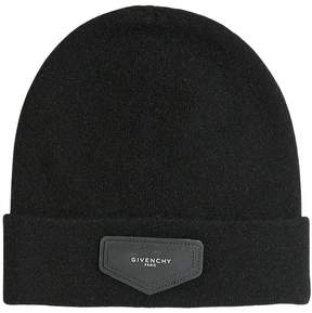Givenchy Doubled Knitted Wool & Cashmere Hat