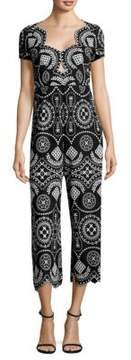 Alice McCall Crave You Eyelet Jumpsuit