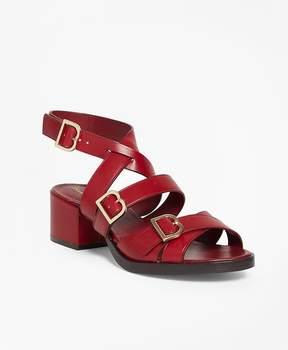 Brooks Brothers Multi Strap Sandals
