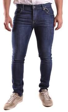 Fred Mello Men's Blue Cotton Jeans.