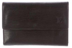 Louis Vuitton Porte Monnaie Billets Trèsor Wallet - BLACK - STYLE