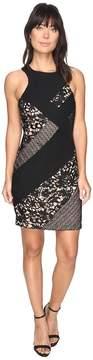 Adelyn Rae Loretta Woven Lace Bodycon Dress Women's Dress