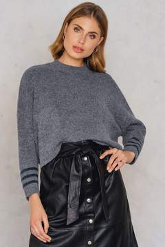 NA-KD Na Kd Front Pockets Knitted Sweater