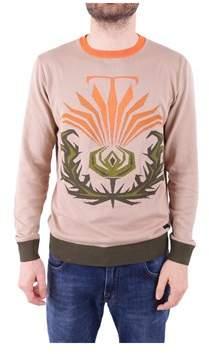 Trussardi Men's Multicolor Cotton Sweatshirt.