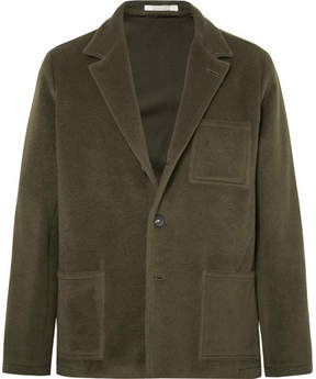 Massimo Alba Unstructured Fleece Wool And Mohair-Blend Blazer