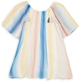 Chloé Toddler's, Little Girl's& Girl's Couture Rainbow Silk Dress