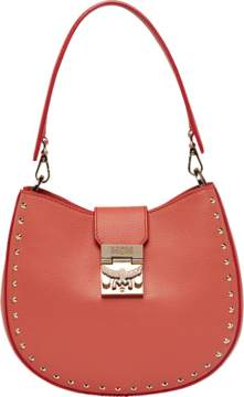 MCM Patricia Hobo In Studded Outline Leather