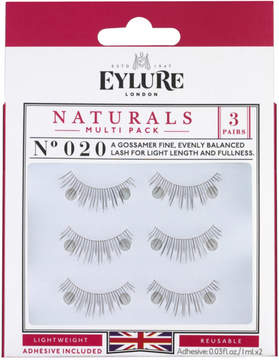 Eylure Naturalites Naturals Multi-Pack 020