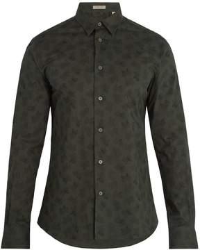 Bottega Veneta Butterfly-print single-cuff cotton shirt