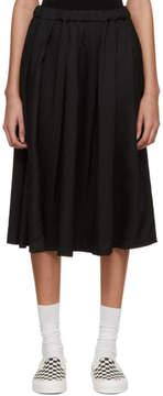 Comme des Garcons Black Crinkle Skirt