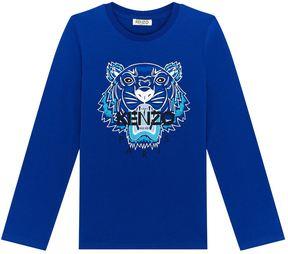 Kenzo Icon Tiger Long-Sleeve T-Shirt