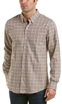 J.Mclaughlin J. Mclaughlin Westend Trim Fit Woven Shirt.