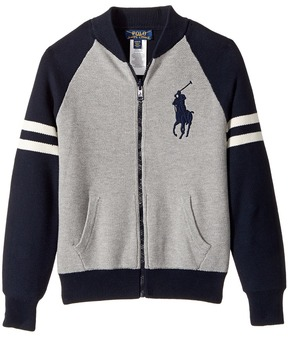 Polo Ralph Lauren Kids - Reversible Cotton Sweater Boy's Sweater